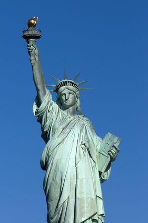 Statue of Liberty, Liberty Island, New York City, New York.