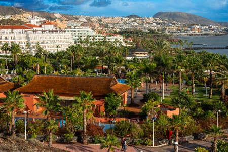 Sheraton La Caleta Resort & Spa and Hotel Riu Palace Costa Adeje Tenerife Island, Canary Islands, Spain