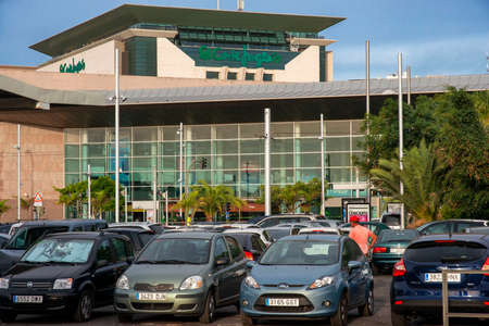 El Corte Ingles department store Santa Cruz city Tenerife island Canary Islands Spain