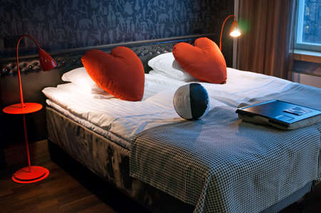 Room of the Hotel Scandic Paas Helsinki Finland.