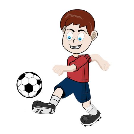 Boy futbolis