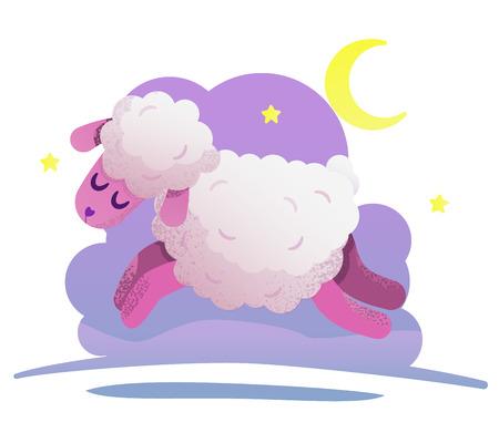Sheep which helps you fall asleep