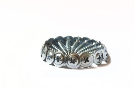 screw: screw, bolt, wood screw Stock Photo