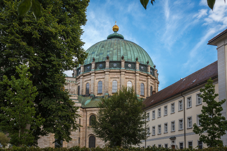 benedict: Dome of St. Blasien in Black Forest Stock Photo