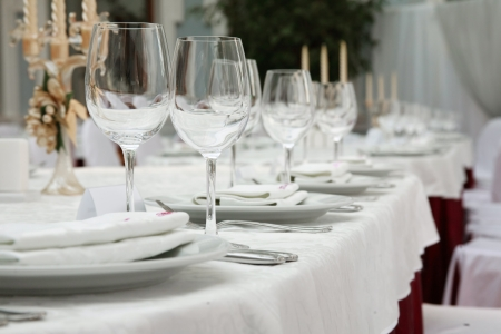 banquet: Place on a banquet table for a welcome guest