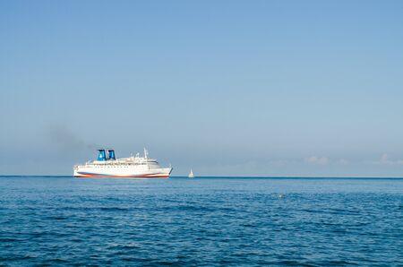 Sochi, Russia - July 20, 2019: Cruise ship