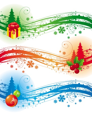 Christmas vector design elements Stock Vector - 9902869