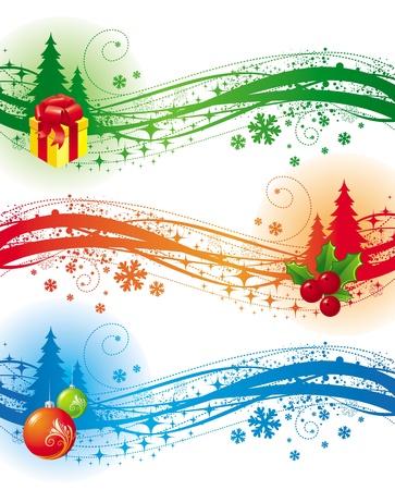 Christmas vector design elements Stock Vector - 9902869