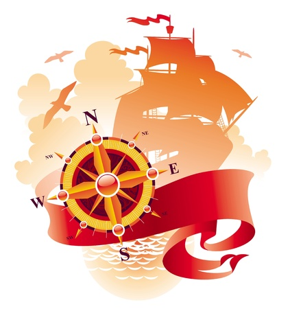 Adventures & travel vector design  Stock Vector - 9902847