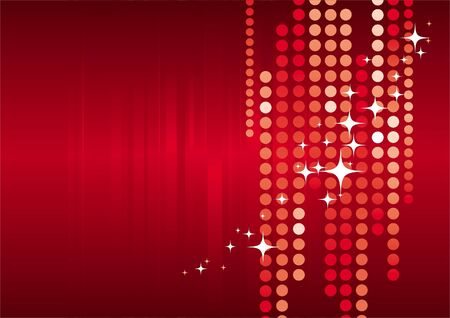 glister: Christmas abstract vector background Illustration