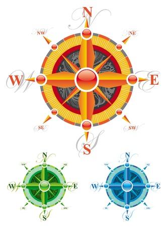 Vector compass rose Stock Vector - 9903002