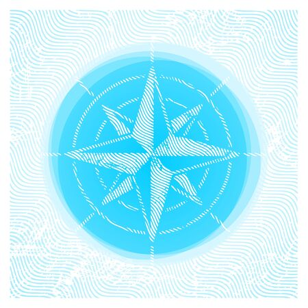Vector compass rose Vector