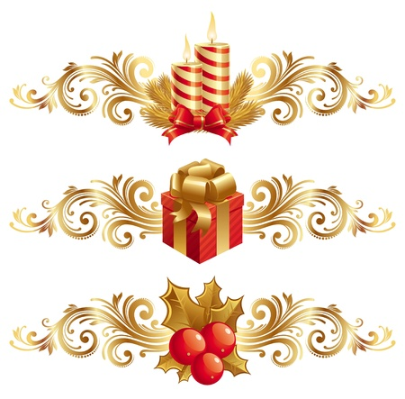 Vector Christmas symbols & ornament Vector