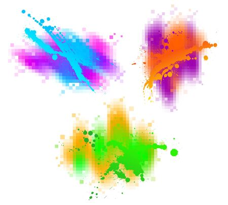 Colorful abstract vector design elements Vector