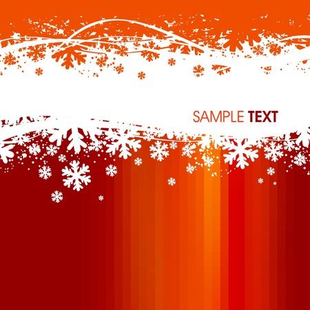 Arrière-plan de Noël de vecteur Illustration