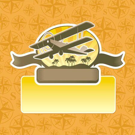 rosa dei venti: Vector avventura ed emblema di viaggio Vettoriali