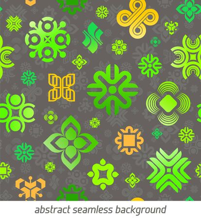 Vector abstract seamless background Vector