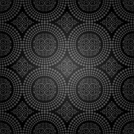 Vector background -  seamless ornamental decorative pattern Vector