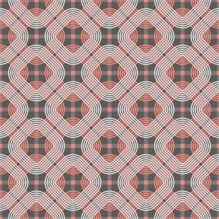 circulos concentricos: Seamless vector patrón