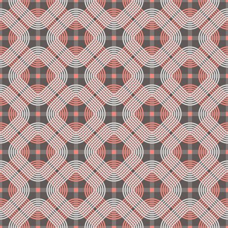 concentric: Seamless vector pattern