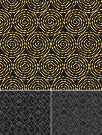 Vector seamless decorative pattern Vector