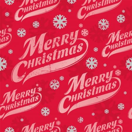Naadloze vector achtergrond - Kerstmis inpakpapier