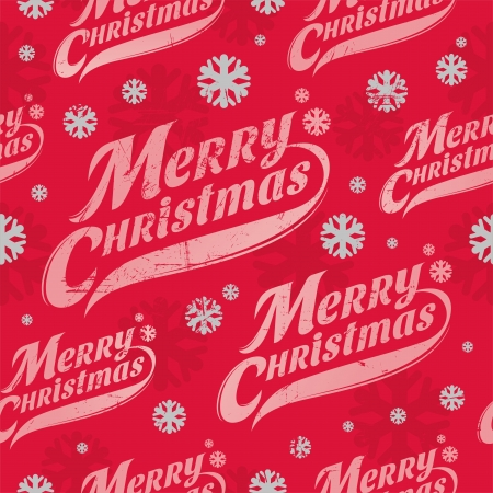 Seamless vector background - Christmas wrapping paper Vector