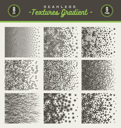 seamless: set of seamless textures gradient