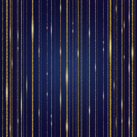 glistening: background- glitter gold shining strips