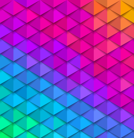 Abstract multicolored background. Paper colorful squama vector illustration. 일러스트