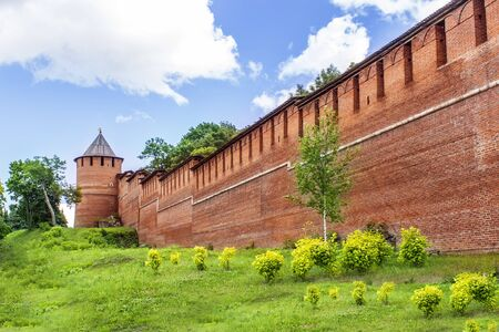 nizhni novgorod: Zachatievskaya Kremlin tower, Nizhny Novgorod, Russia