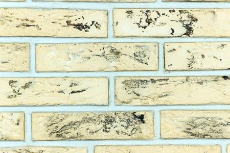 porous brick: Brick wall design as background texture Stock Photo