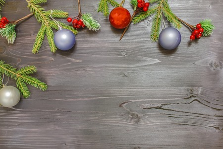 Christmas background for festive decoration and text - Merry Happy New Year
