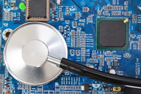 diodes: Diagnosis of motherboard panel is a stethoscope