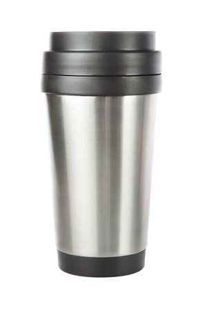travel tumbler, cup  Closeup  photo