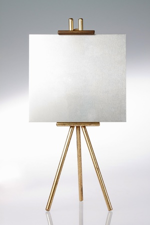 tripod: Tripod, easel and blank space
