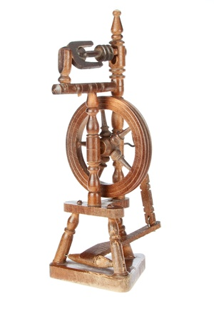 Vintage loom on a white background Stock Photo - 14809214