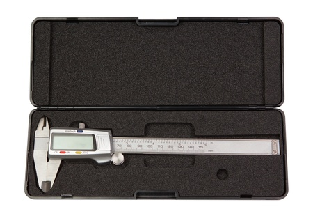The new caliper trammel,with digital display in a case. photo