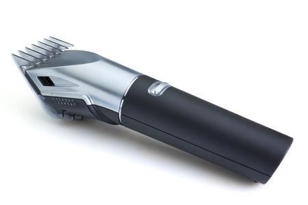 hair clippers: Modern hair clipper wireless. Close-up.