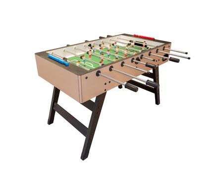 futbol infantil: Tablero de la mesa de juego de fútbol. Para los deportes de entretenimiento.