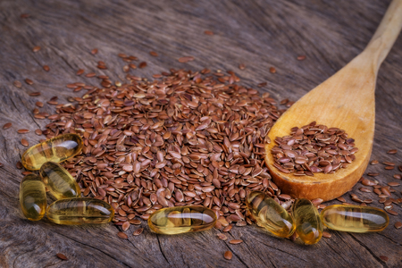 flax seed oil: The products are rich in omega. Flax and fish oil.