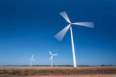 generating station: Wind Generating Station, in motion. Portugal Sagres