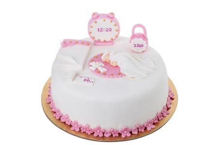 Kreatives Kuchen Fur Ihr Madchen Auf Ihrem Geburtstag Lizenzfreie