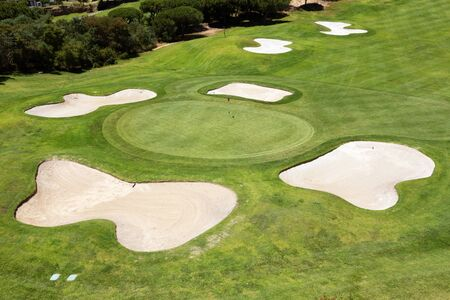 The best golf courses in the park for tourists. Portugal
