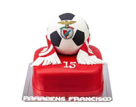 Themed cake for club football player Benfica