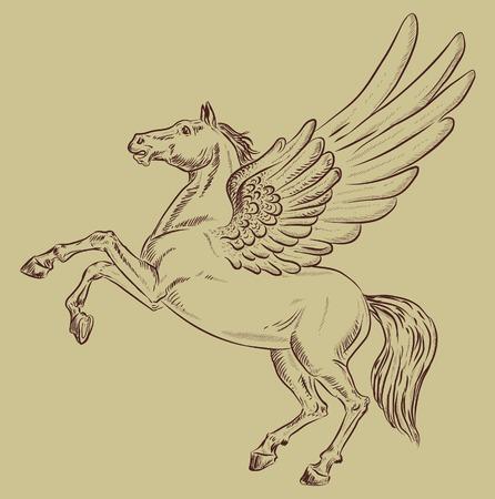invented: horse