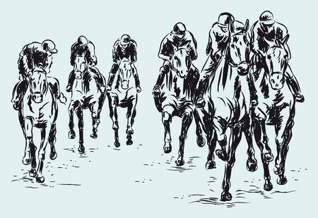 hippodrome: hippodrome Illustration