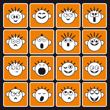 affliction: emotion icons