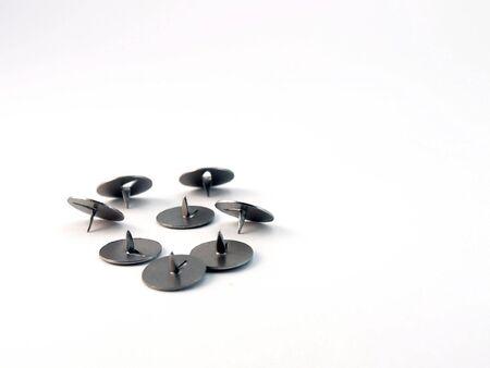 Drawing-pins. Stock Photo
