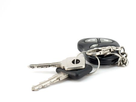 Keys from automobile photo